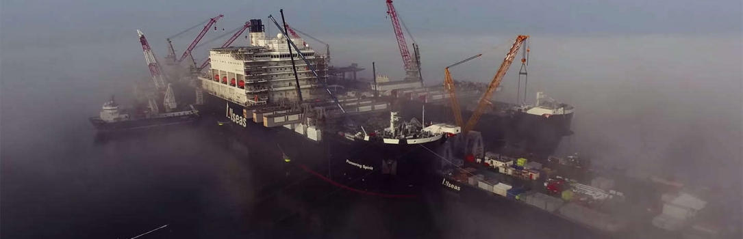 Beelden Pioneering Spirit